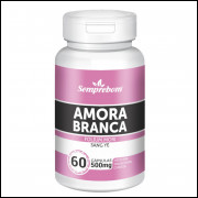 Amora Branca - Semprebom - 60 caps - 500 mg