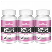 Amora Branca - Semprebom - 180 caps - 500 mg