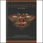 Dvd - Aerosmith  - Big Ones