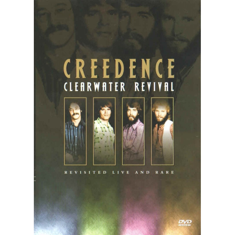 Dvd - Creedence - Live And Rare