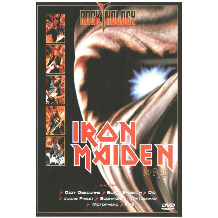 Dvd  - Iron Maiden - No Fear - Original - Novo