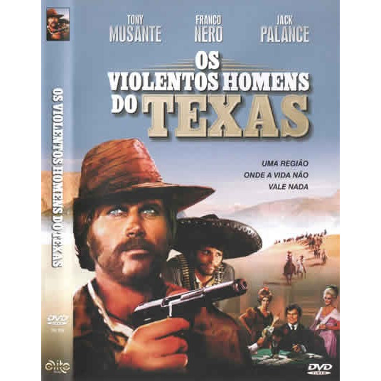 Dvd - Os Violentos Homens Do Texas - Novo E Original