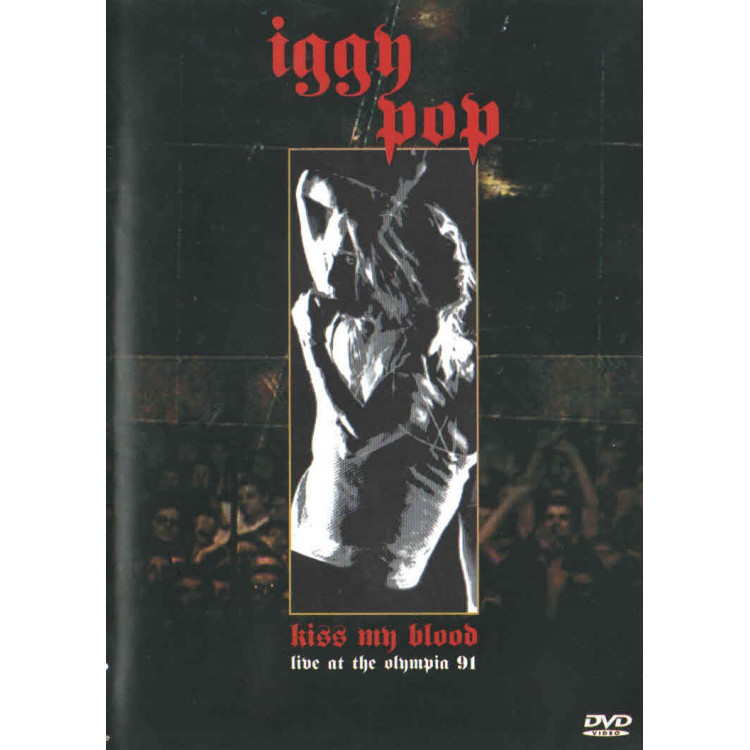 Dvd - Iggy Pop - Kiss My Blod