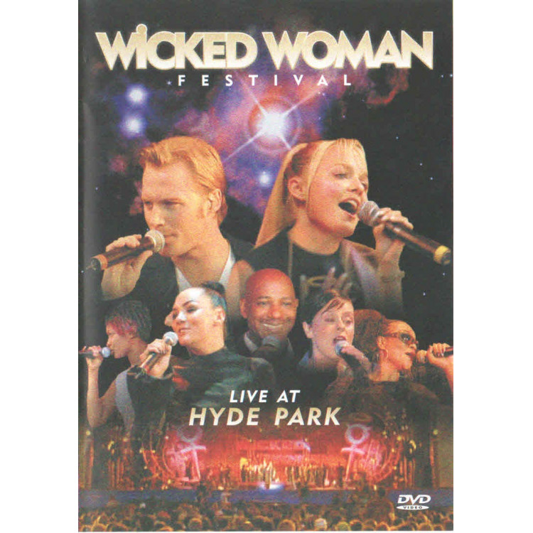 Dvd - Wicked Woman Festival Live At Hyde Park